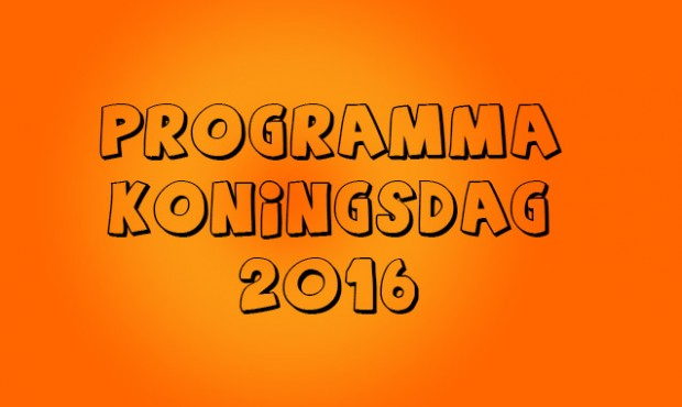 programma Koningsdag 2016
