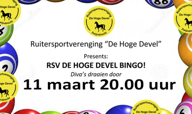 RSV De Hoge Devel Bingo!