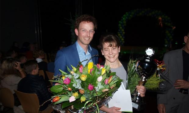 Agnes Romijn en Albert Nap sportvrouw/-man