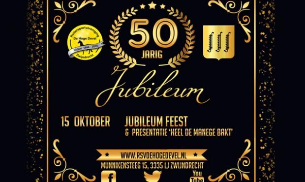 15 oktober JUBILEUMFEEST!